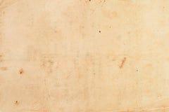 Oude document geweven achtergrond Stock Fotografie
