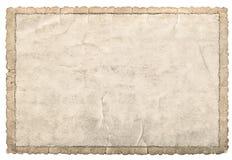 Oude document kaderfoto's en beelden Gebruikte kartontextuur Royalty-vrije Stock Foto's