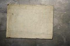 Oude document muur stock afbeelding