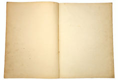 Oude document pagina's. Stock Foto