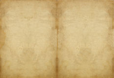 Oude document textuur Stock Foto's