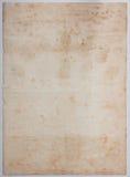 Oude document textuur Stock Fotografie