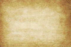 Oude document textuur of achtergrond met donker vignet B Royalty-vrije Stock Afbeelding