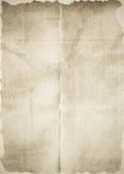 Oude document textuur als achtergrond Stock Fotografie