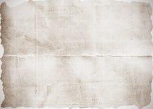 Oude document textuur als achtergrond Stock Foto's