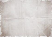 Oude document textuur als achtergrond Stock Foto