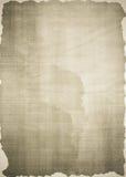 Oude document textuur als achtergrond Royalty-vrije Stock Fotografie