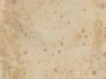 Oude document textuur Grunge oud document voor schatkaart of wijnoogst Stock Fotografie