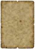 Oude document wijnoogst Royalty-vrije Stock Foto's