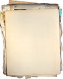 Oude documenten Stock Fotografie