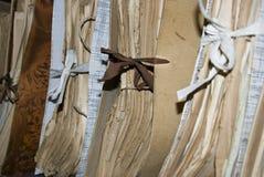 Oude documenten in archief royalty-vrije stock afbeelding