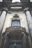 Oude Dominicaanse Kerk in Lviv, de Oekraïne Royalty-vrije Stock Afbeelding