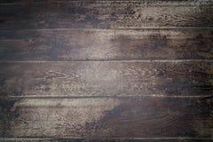 Oude donkere Houten Achtergrond stock afbeelding