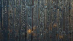 Oude donkere houten textuurachtergrond Stock Fotografie