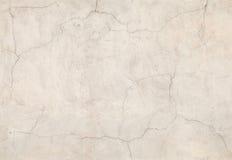 Oude doorstane concrete muur, naadloze textuur Stock Foto