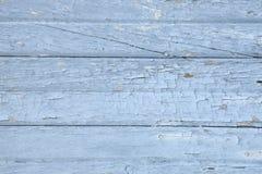 Oude doorstane geschilderde houten raadstextuur Stock Afbeeldingen