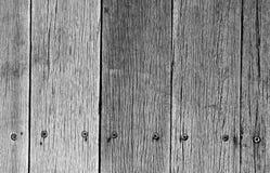 Oude doorstane houten plank Royalty-vrije Stock Fotografie