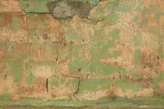 Oude Doorstane Pleistermuur Royalty-vrije Stock Foto's
