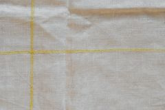Oude doorstane van de schoteldoek textuur als achtergrond stock foto's