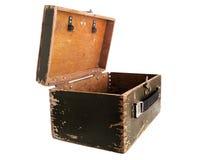 Oude doos royalty-vrije stock foto