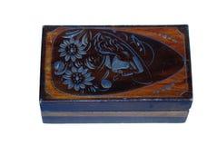 Oude doos Stock Afbeeldingen