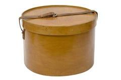 Oude doos voor een hoed Royalty-vrije Stock Afbeelding