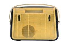 Oude draagbare radio Royalty-vrije Stock Foto