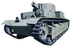 Oude drie-toren tank Royalty-vrije Stock Foto