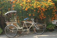 Oude driewieler Royalty-vrije Stock Foto's
