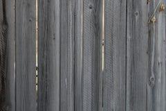 Oude droge houten omheining Royalty-vrije Stock Afbeelding