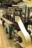 Oude drukmachine stock afbeelding