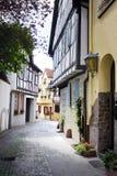 Oude Duitse gebouwen Stock Afbeeldingen