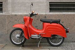 Oude Duitse motorfiets Royalty-vrije Stock Foto's