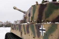 Oude Duitse tank Stock Foto's