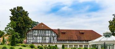 Oude Duitse Villa Stock Foto