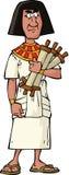 Oude Egyptische ambtenaar royalty-vrije illustratie