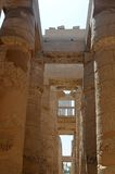 Oude Egyptische architectuur Stock Afbeelding