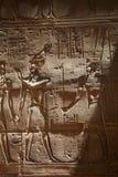 Oude Egyptische hulp Stock Afbeeldingen