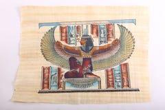 Oude Egyptische Koningen en Koningin Papyrus Royalty-vrije Stock Fotografie