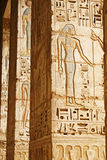 Oude Egyptische tempel Royalty-vrije Stock Foto