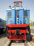 Oude elektrische locomotief 2 Stock Afbeelding