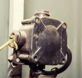 Oude elektrokabeldoos Stock Afbeelding