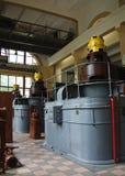 Oude elektroturbine Royalty-vrije Stock Afbeeldingen