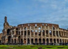 Oude en historische Colosseum in Rome, Italië royalty-vrije stock afbeeldingen