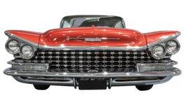 Oude en klassieke Amerikaanse auto stock afbeelding