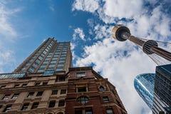 Oude en nieuwe bulidings in Sydney Royalty-vrije Stock Afbeelding