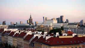 Oude en nieuwe stad Royalty-vrije Stock Foto