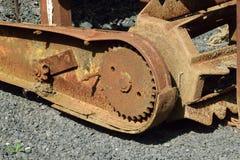 Oude en roestige machines Royalty-vrije Stock Afbeeldingen