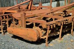 Oude en roestige machines Stock Fotografie