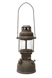 Oude en roestige orkaanlamp Royalty-vrije Stock Foto